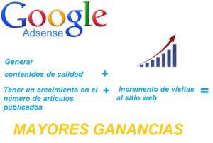Tips Google adsense formula mayores ganancias